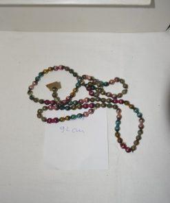 Madamvintage - glazen kralenslinger gekleurd